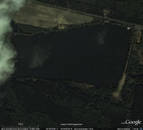 База Антонова. Вид из космоса.