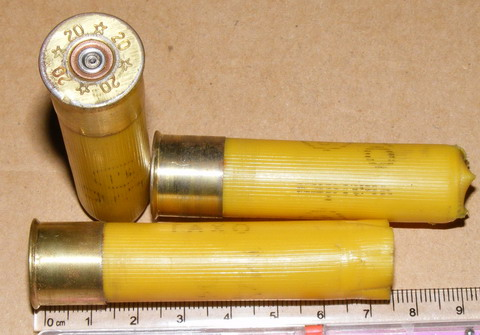 Патроны калибра 20х70 мм.
