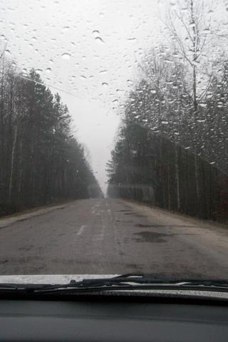 32157 Липники. Дорога Лугины-Липники.