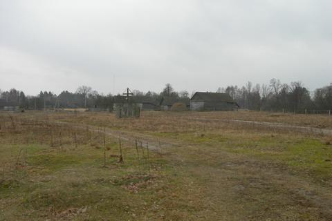 Вид на хутор с поля.