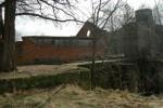 Разрушенное сооружение ГЭС.