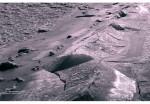 Лед на берегу Таганрогского залива.