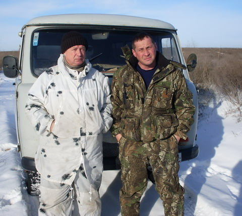 Охота в Астраханской области.