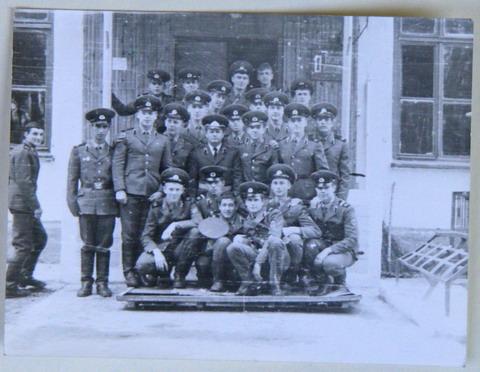 Липники, в/ч 32157. Воины 1-го дивизиона.