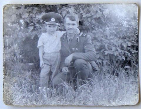 Липники, 32157. 87-й год. Овсянников и брат.