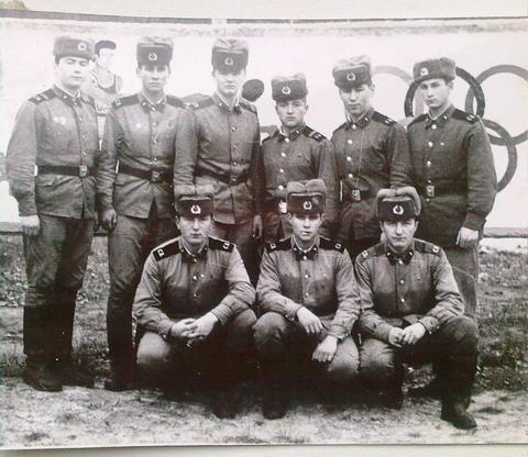Липники, 32157. Воины 3-го дивизиона.