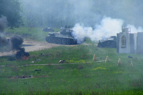 Советские танки.