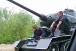 Экипаж танка Т-34.