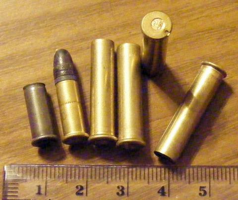 Гильзы 5.6 мм .22 WMR.
