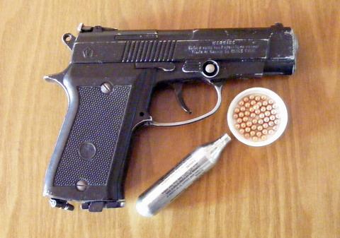 Пистолет Аникс. Общий вид.