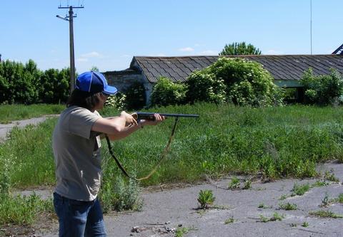 <b>Пробный отстрел недорогих патронов.</b>