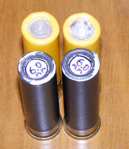 Патроны с картечью 6.2 и 6.0 мм.