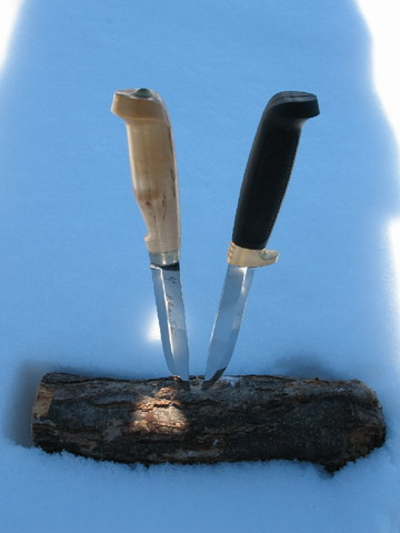 <b>Охотничий нож в быту и на природе.</b>