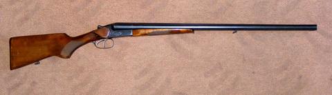 Ружье ИЖ-43М. Два независимых одинарных спуска. Общий вид.