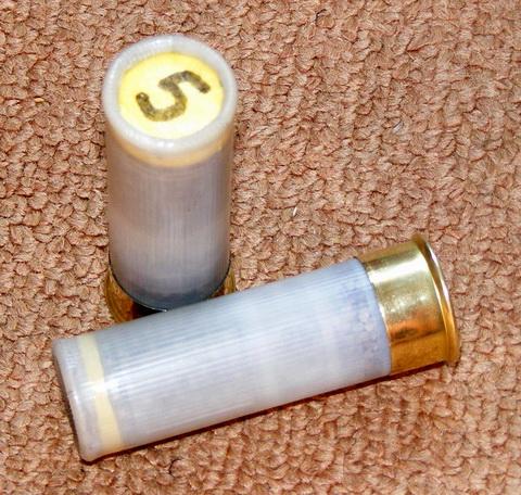Стреляная гильза после повторной закрутки.