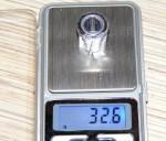 Пуля Майера. Масса 32.6 грамма.