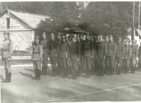 09.08.1987 ББО-4 на плацу.