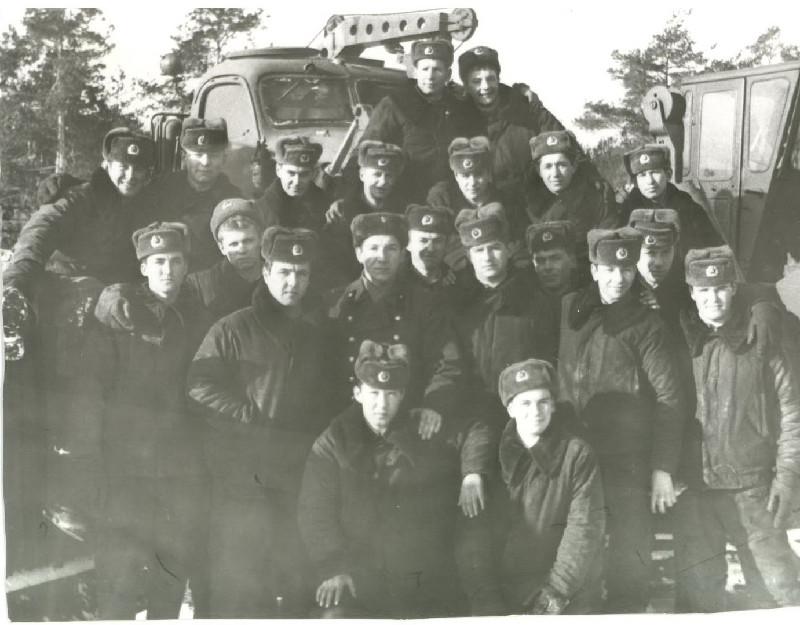 <b>Липники, в/ч 32157, 4 дивизион, ББО. 86 - 88 годы.</b>