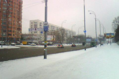<b>Наконец-то на Киевщине выпал снег.</b>