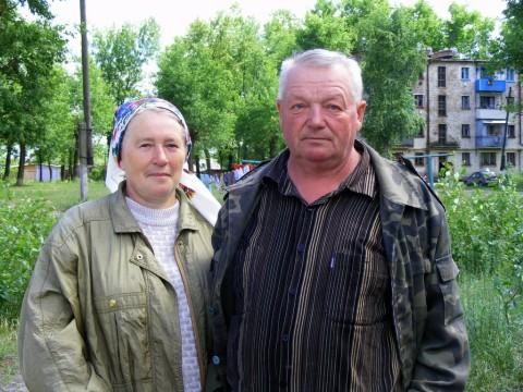 Владимир Владимирович Рябчук с женой Светланой Леонидовной. Июнь 2012.