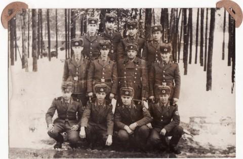 В/ч 32157. Взвод РБО 1-го дивизиона. 1987 год.