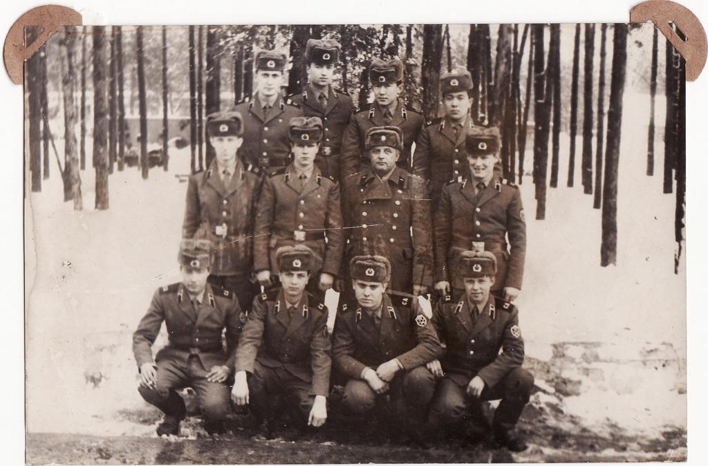<b>Липники, в/ч 32157 86-88 годы. Фото из альбома А.Коваля.</b>