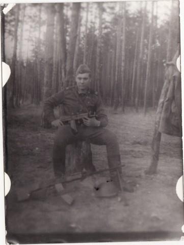 На полевой позиции, 88-й год. Фото из коллекции А.Коваля.