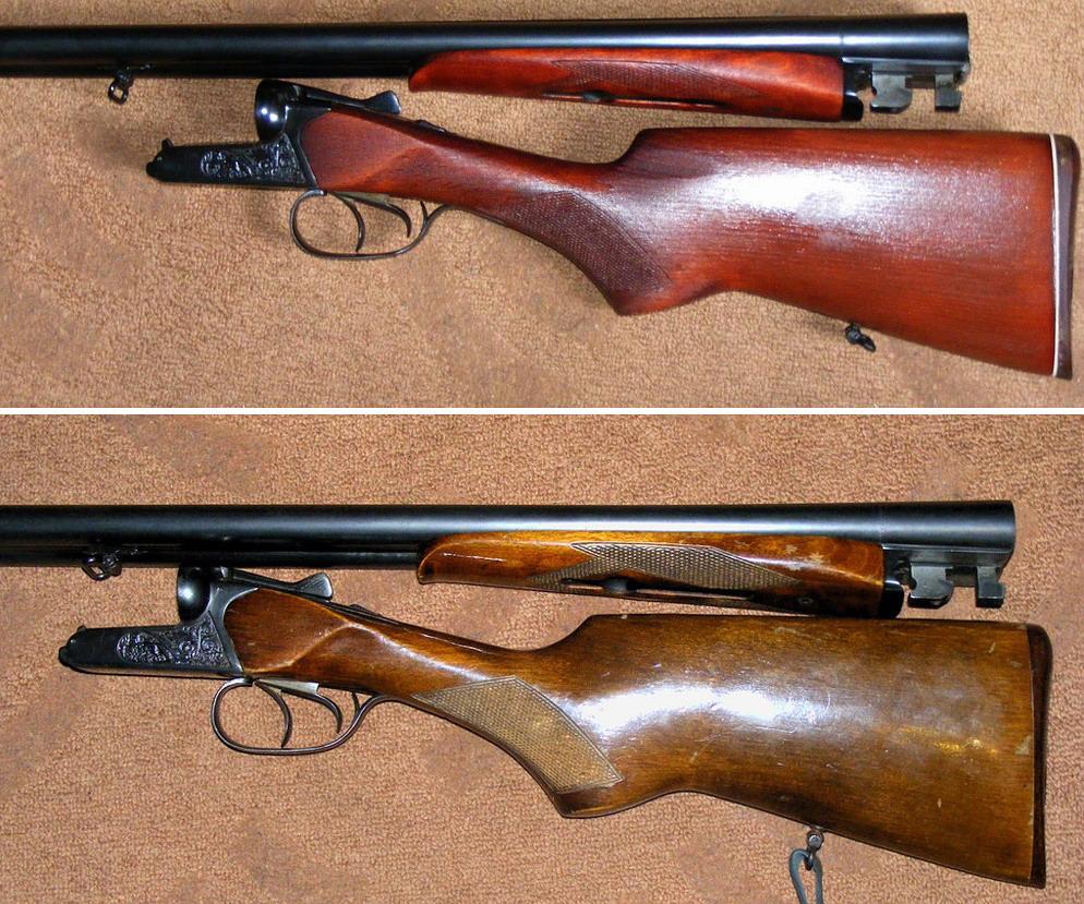 Реставрация ружья