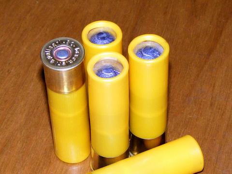 Пулевые патроны 20-го калибра, закатанные новой матрицей.