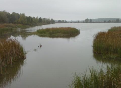 Заводи на втором озере.