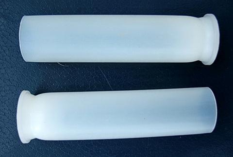 Пластиковые гильзы без металлического донца.
