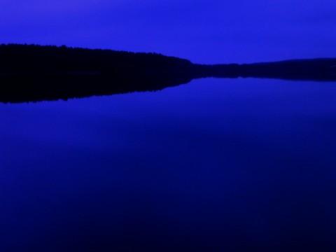 Круглик. Вечер на Нижнем озере.