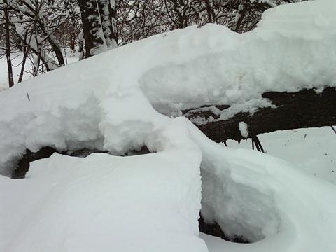 Снежный намет.