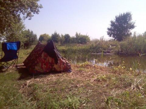 Моя охотничья палатка