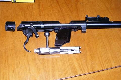 Ударно-спусковой механизм ТОЗ-17-01