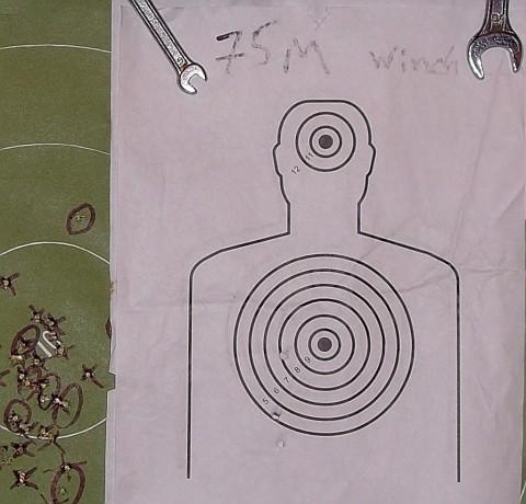 Пристрелка оптики 4х32 на ТОЗ-17-01. Мишень №2.