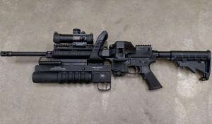 <b>AR-15 стала пулемётно-гранатомётным комплексом</b>