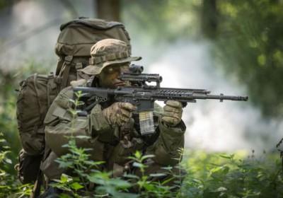 Rheinmetall и Steyr Mannlicher представляют новую штурмовую винтовку RS556