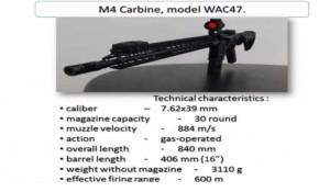 <b>WAC-47: первый «американский» автомат украинской армии</b>